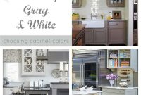 Elite Shades Of Neutral} Gray & White Kitchens – Choosing Cabinet Colors intended for Grey And White Kitchen Cabinets