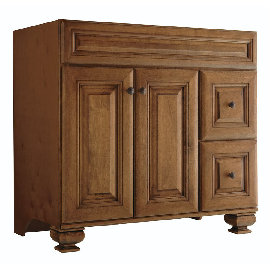 Elite Shop Bathroom Vanities Without Tops At Lowes intended for Bathroom Vanity No Sink