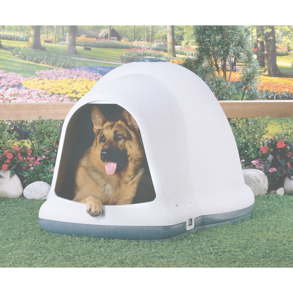 Elite Shop Dogloo Ii X-Large Doghouse At Lowes pertaining to Igloo Dog House Lowes