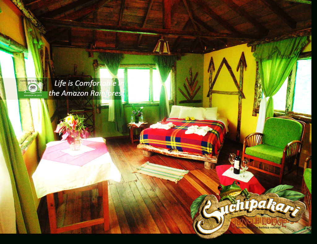 Elite Suchipakari Jungle Lodge Ecuador | Air Travel Bargain throughout Beautiful Akari Bungalows