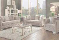 Elite Tamara Living Room Set (Beige) Acme Furniture | Furniture Cart inside Beige Living Room Set