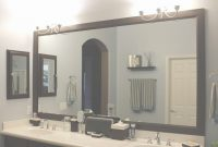 Elite Tempting How To Decorate A Bathroom Mirror How To Decorate A for Best of Bathroom Mirror Ideas On Wall