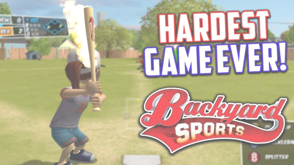 Elite The Hardest Baseball Game Ever! Backyard Sports : Sandlot Sluggers within Backyard Sports