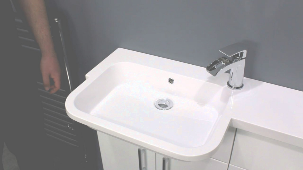 Elite Toilet And Sink Combo For Small Bathrooms | Vanity Unit & Wc Unit with Small Sinks Bathroom