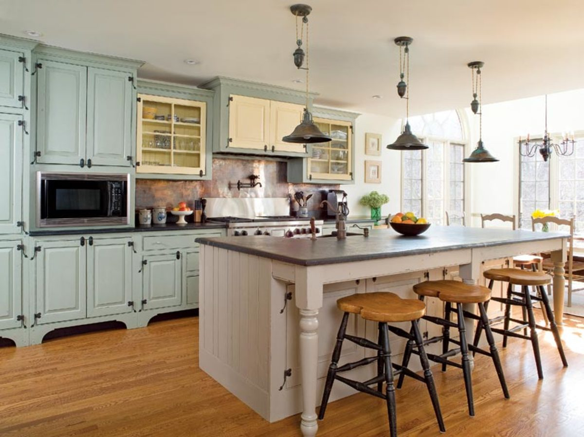 Elite Traditional Trades: Period Kitchen Cabinets - Restoration & Design with regard to Colonial Kitchen Design