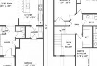 Elite Two Story Modern House Plans Simple Two-Story Middle Class in Modern House Floor Plans