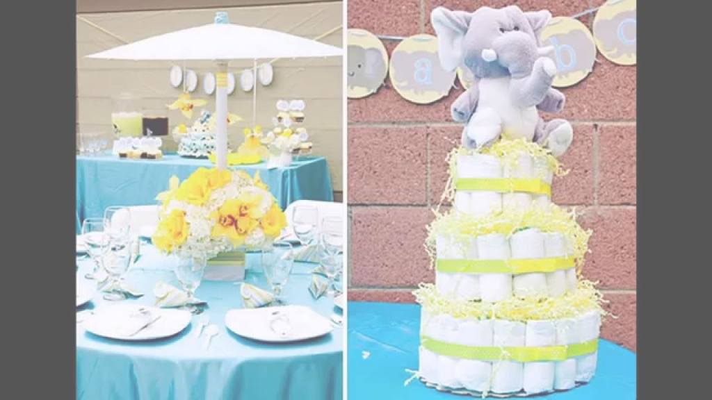 Elite Unisex Baby Shower Themes Ideas - Youtube within High Quality Baby Shower Decoration