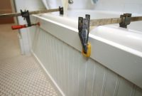 Elite Update A Bathtub Surround Using Beadboard | Hgtv intended for Fresh Diy Beadboard