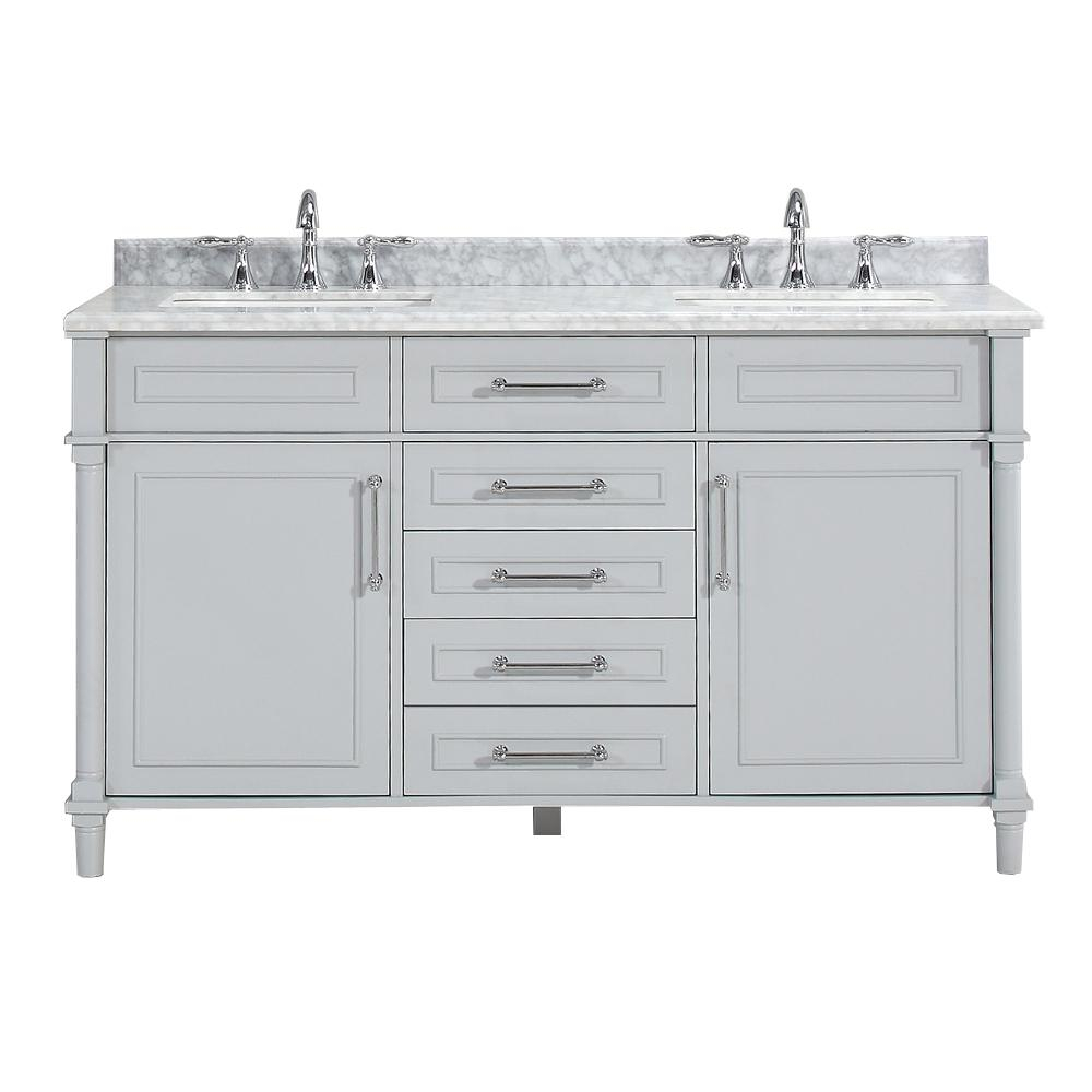 Elite Vanities With Tops - Bathroom Vanities - The Home Depot intended for Home Depot Vanities For Bathrooms
