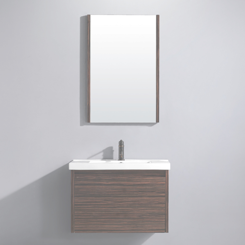 "Elite Vigo 32"" Espresso Petite Single Bathroom Vanity With Mirror within Lovely Petite Bathroom Vanity"