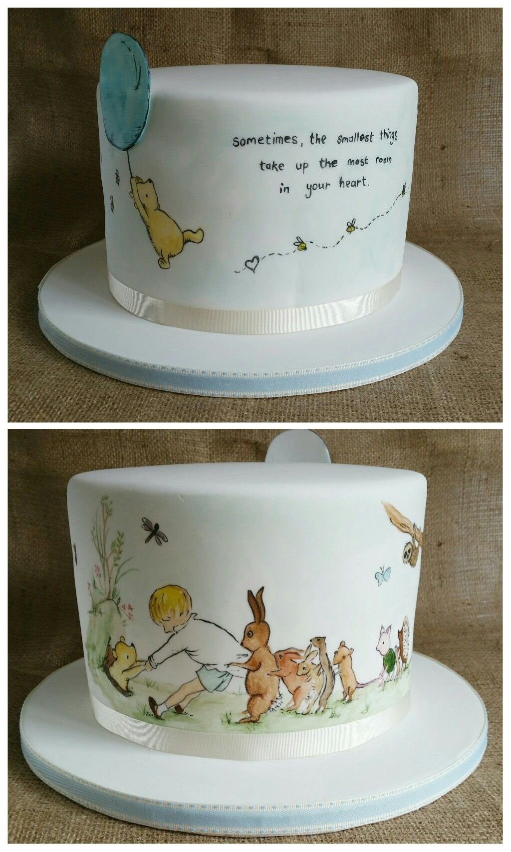 Elite Winnie The Pooh Baby Shower Cake. ☺ | Baby Shower Ideas pertaining to Winnie The Pooh Baby Shower Cakes