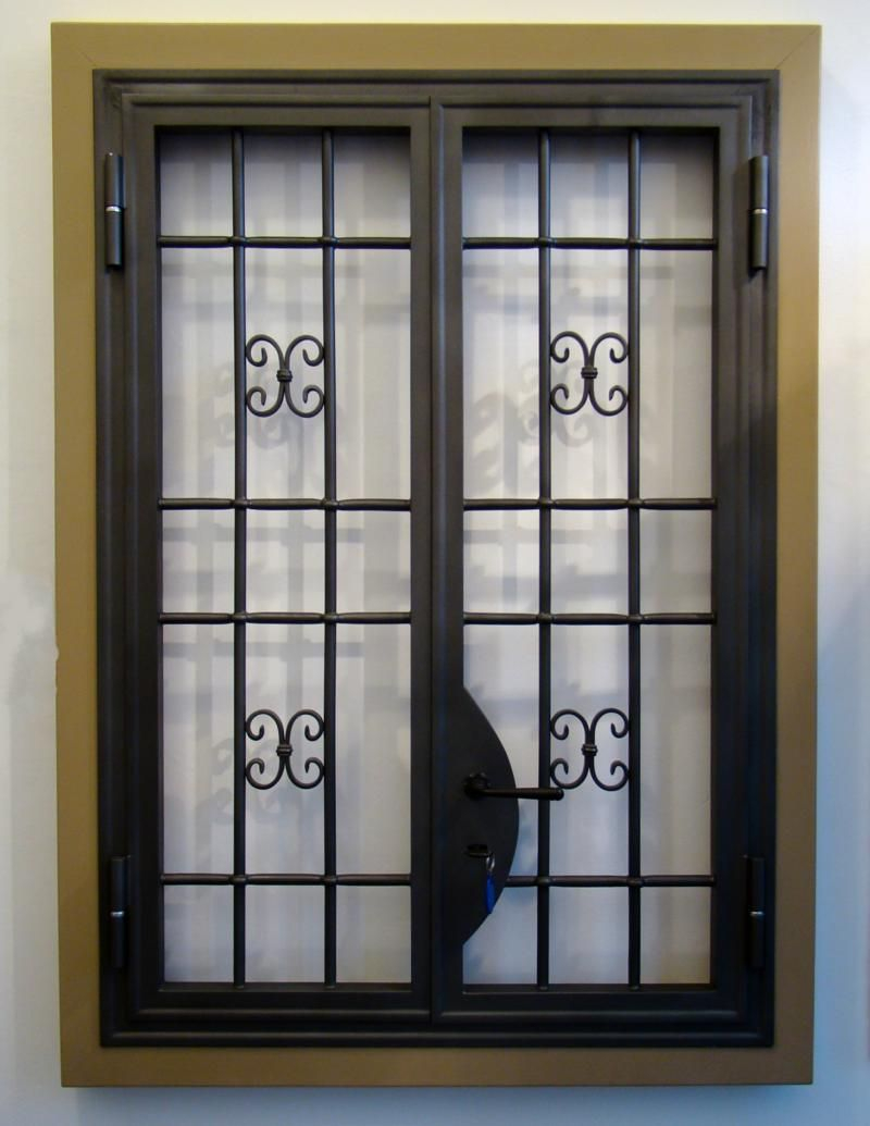Elite Wrought Iron Window Grilles. With Cast Iron Ornaments. Http in Window Design Pictures