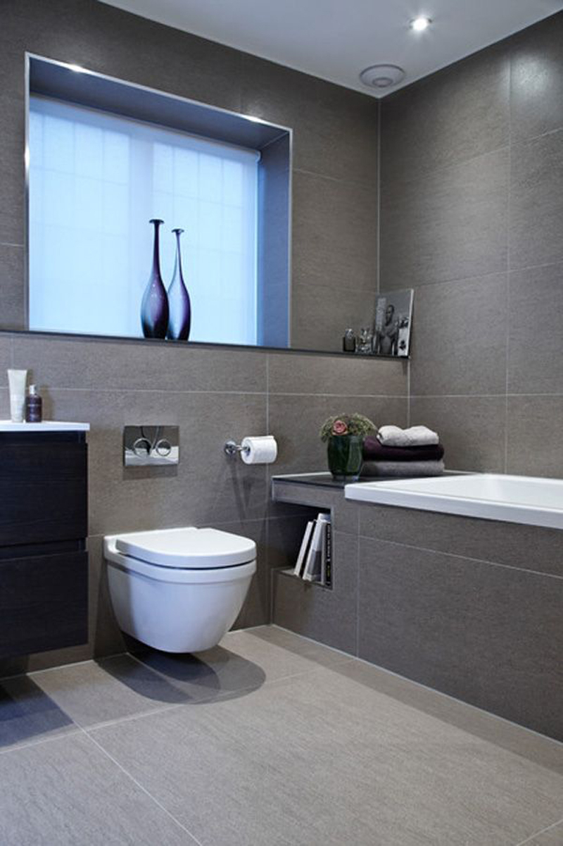 Epic 15 Shades Of Grey - Bathroom Ideas - Tilehaven throughout Beautiful Bathroom Ideas Images