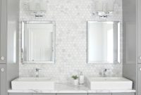 Epic 17 Diy Vanity Mirror Ideas To Make Your Room More Beautiful with regard to White And Grey Bathroom Ideas