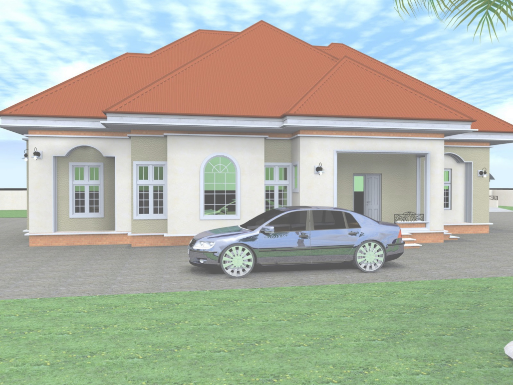Epic 3 Bedroom Bungalow House Plans In Nigeria New Mesmerizing Nigerian inside Nigerian House Plans With Photos