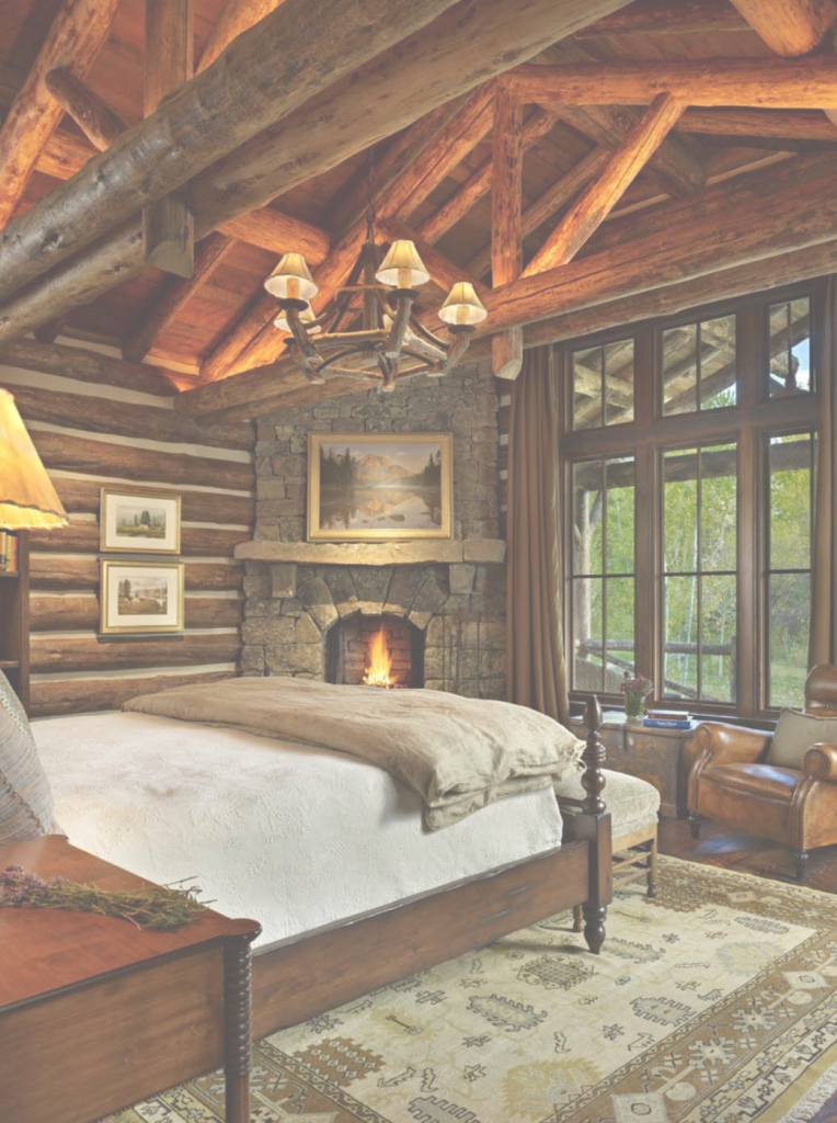 Epic 35+ Gorgeous Log Cabin Style Bedrooms To Make You Drool | Pinterest intended for Unique Cabin Bedroom