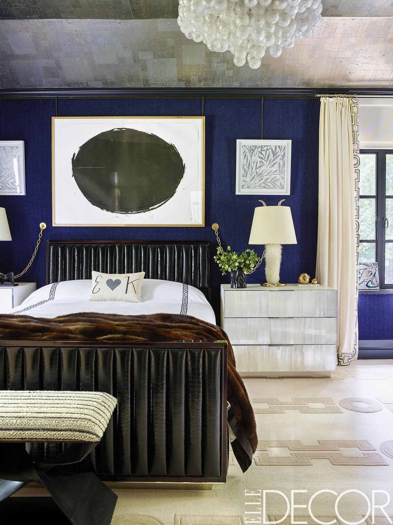 Epic 36 Best Blue Rooms - Ideas For Decorating With Blue in Bedroom Gray