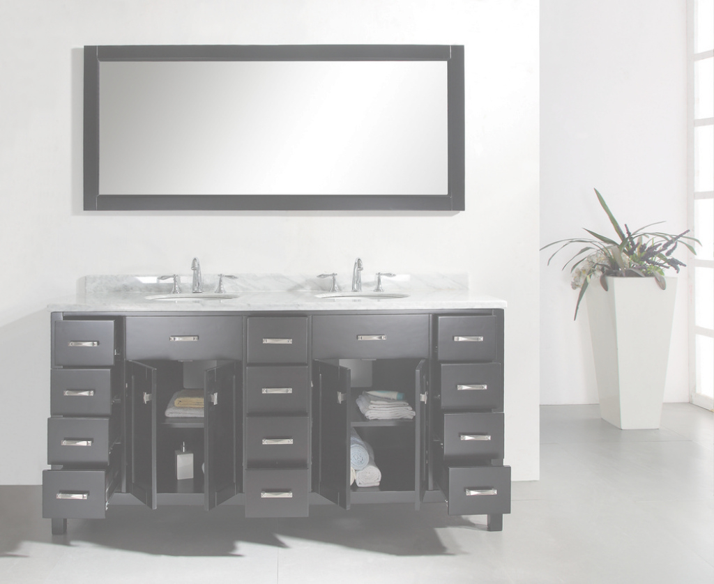 Epic 48 Inch Double Sink Vanity Best Home Design Ideas Jra86Z0Kzk 72 within Bathroom Vanity 72 Double Sink