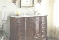 Epic Adelina 48 Inch Old Fashioned Look Bathroom Vanity, Fully Assembled within Old Fashioned Bathroom Sinks