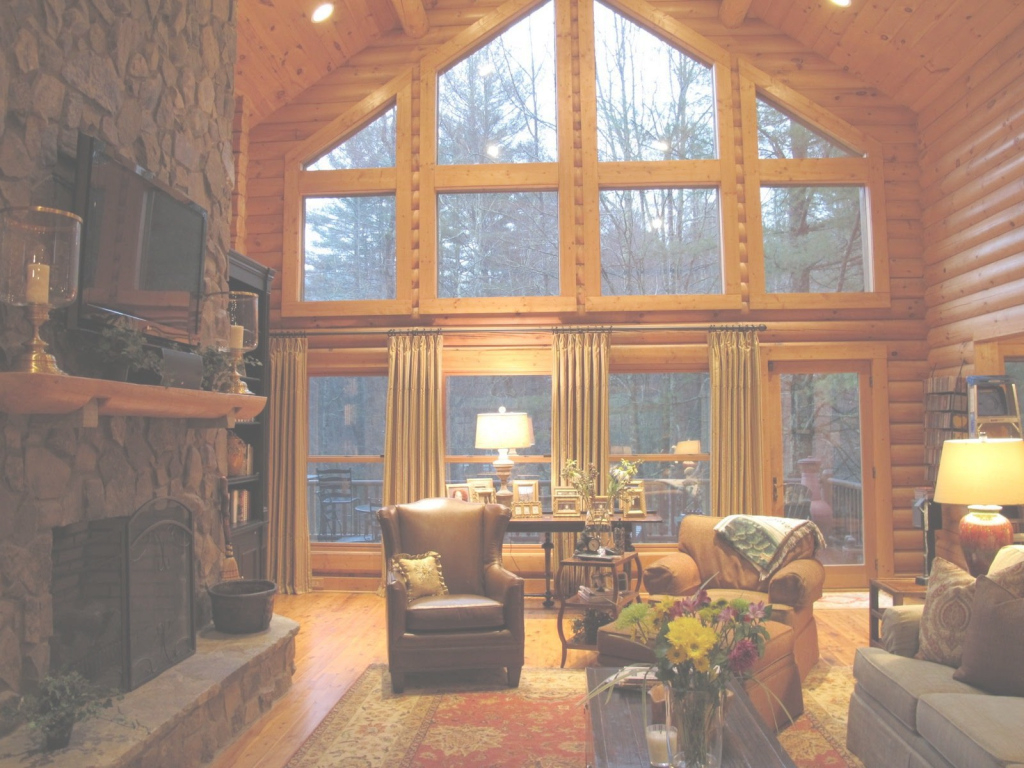 Epic Amazing Style Of Rustic Cabin Living Room With Rough Wood, Rustic in Cabin Living Room