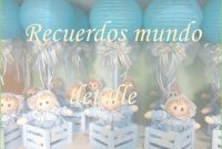 Epic Arreglos Baby Shower Niño Unique Recuerdos Para Baby Shower Baby intended for Awesome Mesa Para Baby Shower