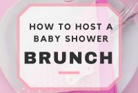 Epic Baby Shower Brunch Ideas & Sample Menu pertaining to Luxury Baby Shower Brunch Menu