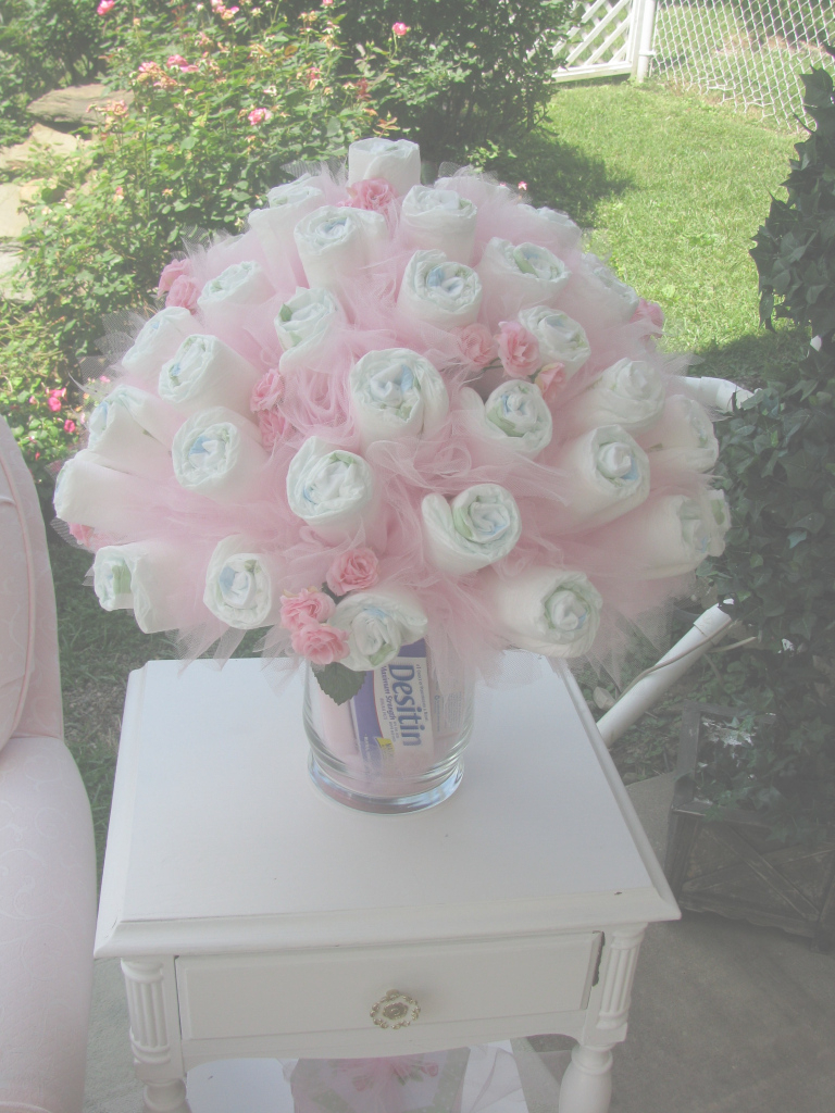 Epic Baby Shower, Diaper Bouquet, Shower Gift For A Baby Shower with Pinterest Baby Shower Gifts