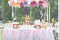Epic Baby Shower Idea Outside Baby Shower Ideas For Girl Outdoor Table within Outdoor Baby Shower Ideas