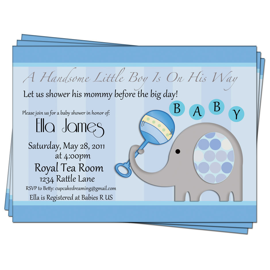 Epic Baby Shower Invitations Ideas For Boy | Omega-Center - Ideas For with New Baby Boy Baby Shower Invitations