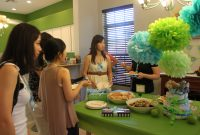 Epic Baby Shower: It's A Boy! Baby Blue & Lime Green Theme | The Trendy throughout Blue And Green Baby Shower