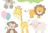 Epic Baby Zoo Animals Shower Images Handycraft Decoration Ideas Jungle pertaining to Awesome Safari Animals Baby Shower