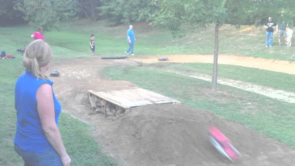 Epic Backyard Bashing Rc Track Race - Youtube regarding Backyard Rc Track Ideas