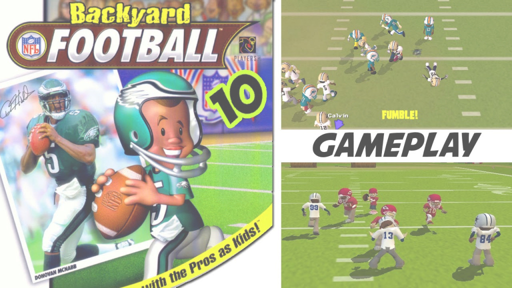 Epic Backyard Football '10 Gameplay Ps2 Hd - Youtube regarding Backyard Football Game
