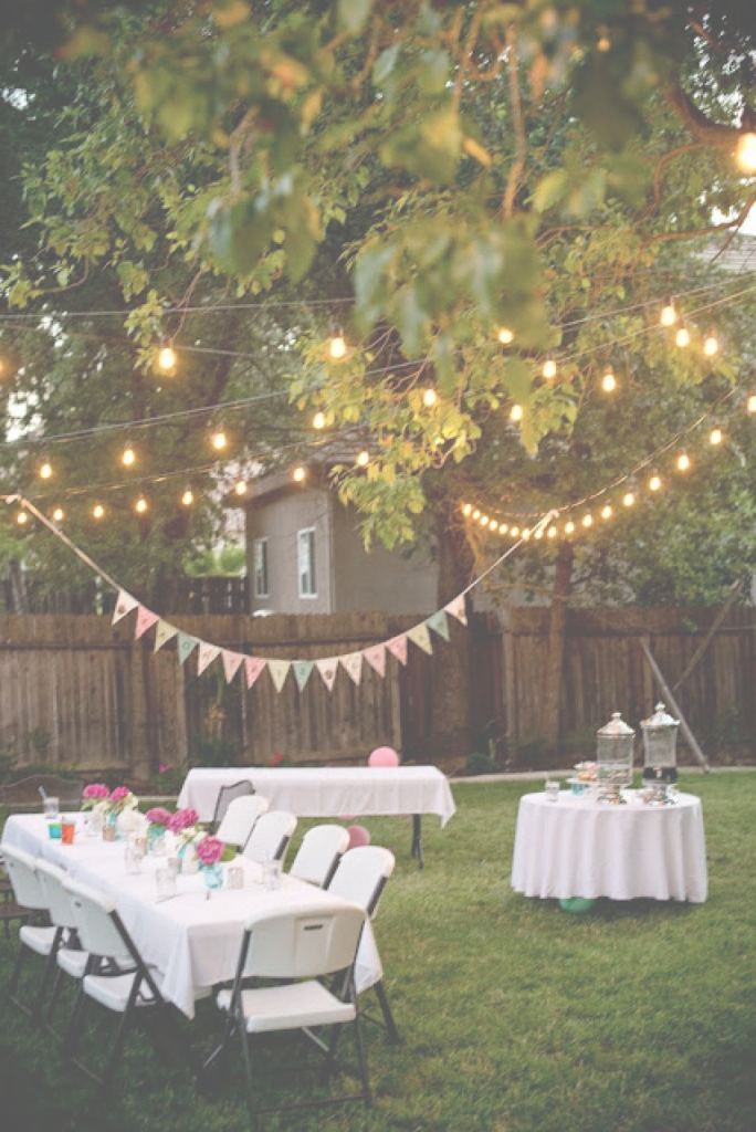 Epic Backyard Party Decorating | Backyard Design Ideas | Pinterest regarding Backyard Party
