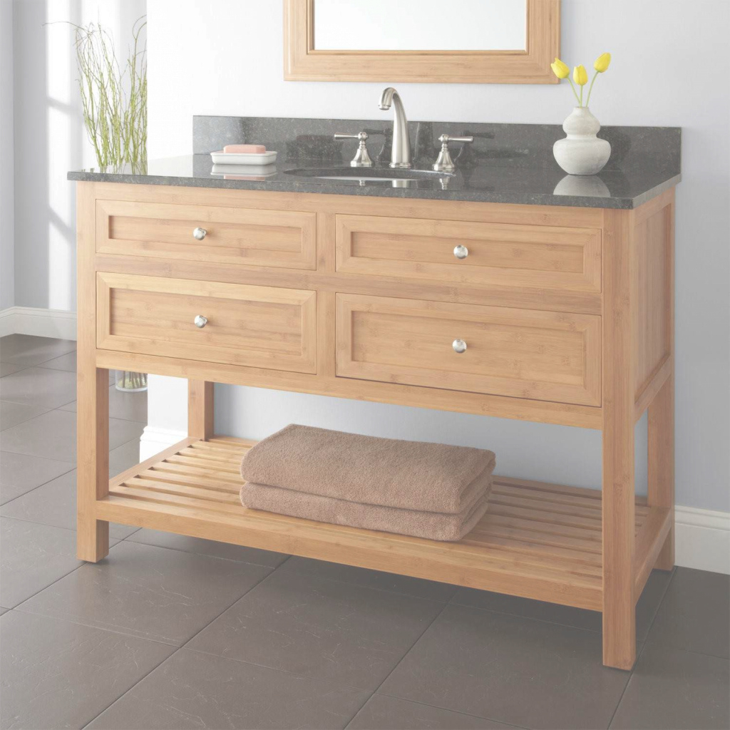 Epic Bamboo Bathroom Vanity & Complete Ideas Example in Good quality Bamboo Bathroom Vanity