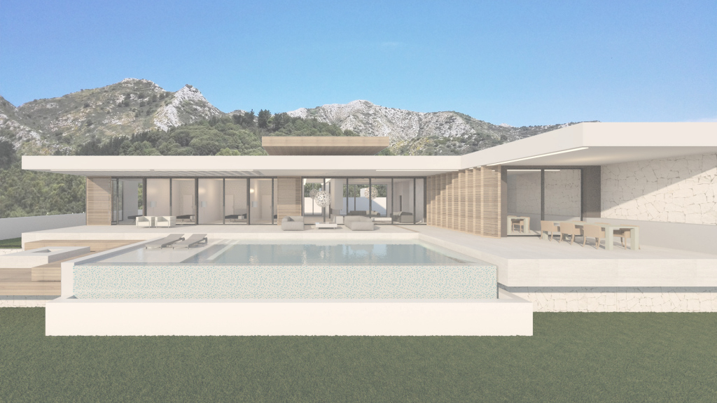Epic Barcelona Bungalow – Modern Villas regarding Modern Bungalow