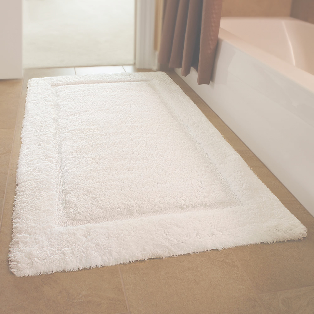 Epic Bathroom : Bathroom Inspiring Oversized Bath Rugs Bathtubs Wonderful regarding New Bathroom Floor Mat