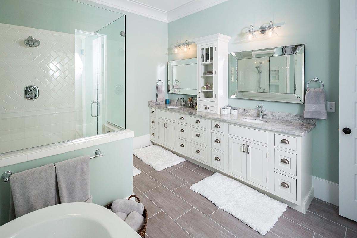 Epic Bathroom Remodeling With Premium Quality Cabinets | Cliqstudios inside Shaker Bathroom Cabinets