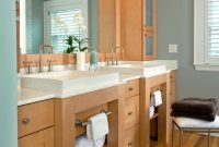 Epic Bathroom Vanity Open To Bedroom Design Simple Vanities Fresh Taren pertaining to Bathroom Vanity Storage