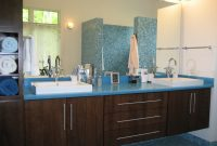 Epic Bathrooms Design : Blue Bathroom Vanity Cabinet Also Creative | Home intended for Blue Bathroom Vanity Cabinet
