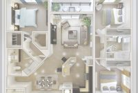 Epic Bedroom Layout Ideas, Small 3 Bedroom House Plan Home Properti within Fresh Small Bedroom Layout Ideas