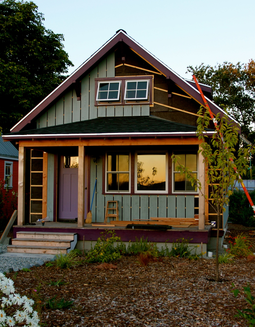 Epic Beekeeper's Bungalow Update: More Siding — The Small House Catalog regarding Inspirational Small Bungalow