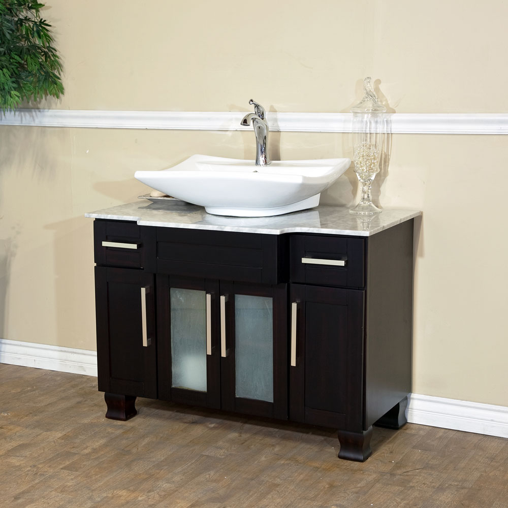 Epic Bellaterra Home 604023B Single Sink Bathroom Vanity, Soft Close throughout Bathroom Vanities Single Sink