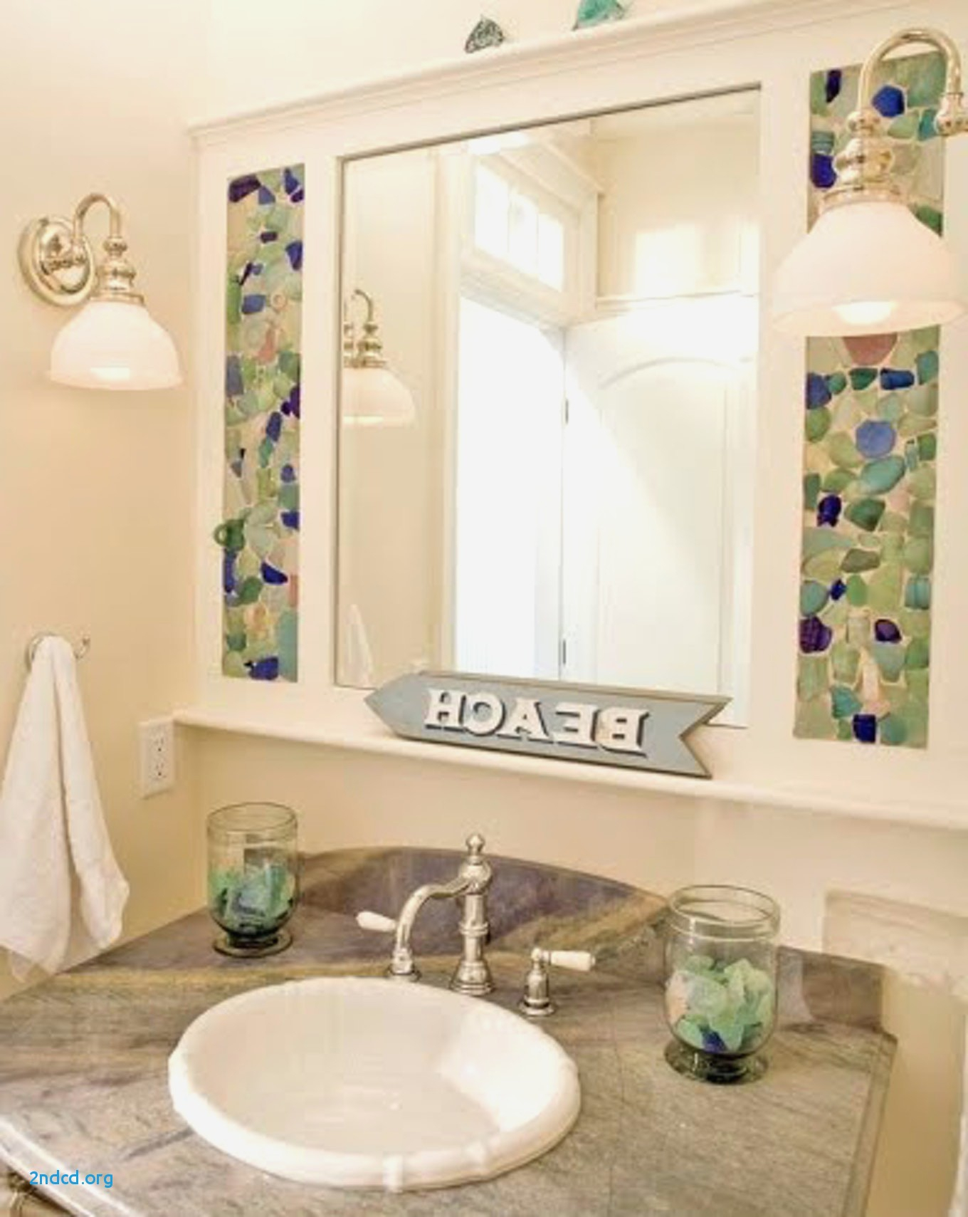 Epic Best Of Beach Themed Bathroom Mirrors - 2Ndcd : 2Ndcd in Awesome Beach Themed Bathroom Mirrors