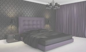 Epic Black And Purple Bedroom - Designsontap.co Black And Purple Bedroom regarding Black And Purple Bedroom