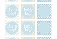Epic Boy Baby Shower Free Printables – How To Nest For Less™ for Free Printable Baby Shower