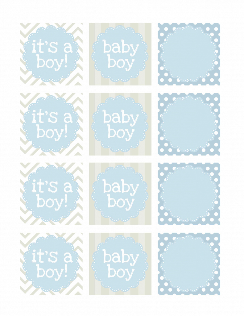 Epic Boy Baby Shower Free Printables - How To Nest For Less™ for Free Printable Baby Shower