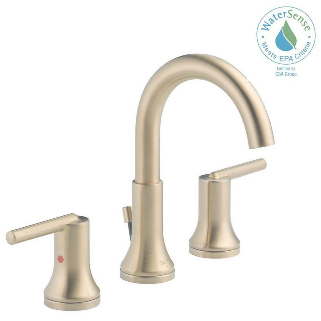 Epic Brass - Bathroom Faucets - Bath - The Home Depot with Luxury Brushed Brass Bathroom Faucet