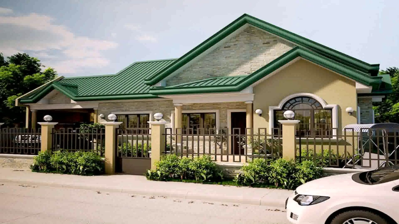 Epic Bungalow Style House Plans In The Philippines - Youtube within Elegant Bungalow House Style