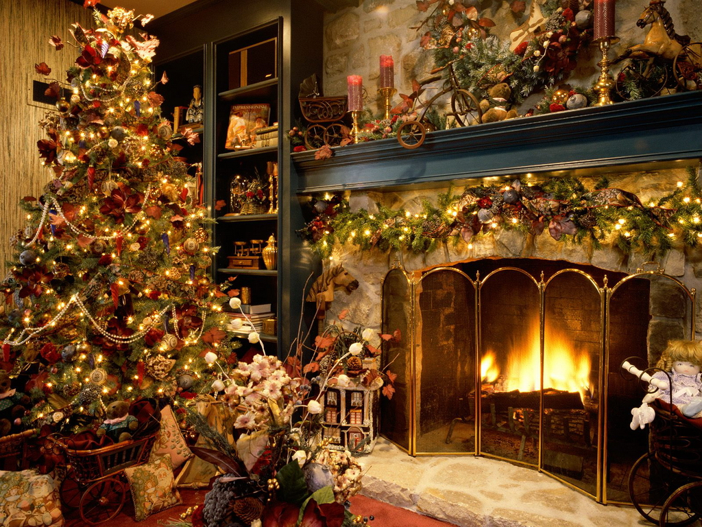 Epic Christmas Living Room - Living Room Ideas regarding Christmas Living Room